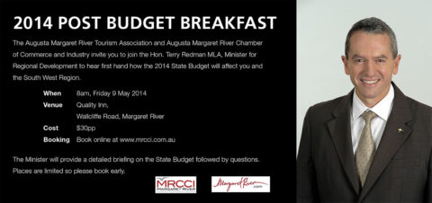WA Post Budget Breakfast in Margaret River