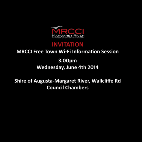 MRCCI Free Town Wi-Fi Information Session