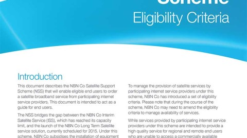 9000 New NBN Satellite Connections Available