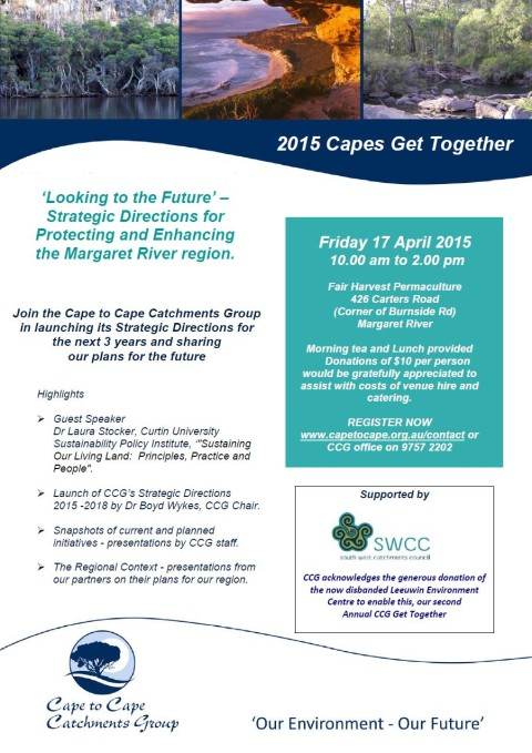 REMINDER: Register for the Capes Get Together