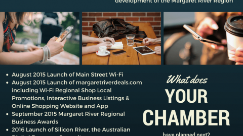 Find out why there's never been a better time to join the Margaret River Chamber!