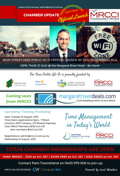 Official Launch of Marg's Free Public Wi-Fi is Coming This Month