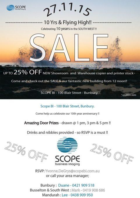 Member Invitation: Scope Business Imaging 10 Year Celebration