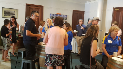 Launch of the MRCCI Coffee Club at Stay Margaret River