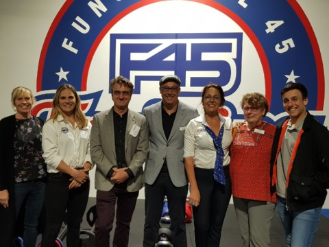F45 Training Uplifts and Inspires Members at the November Sundowner