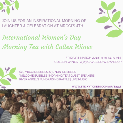 MRCCI and Cullen Wines International Women's Day Celebration